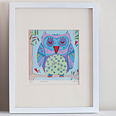 Owl Limited Edition Framed Print