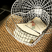 Taborah Metal Heart Baskets